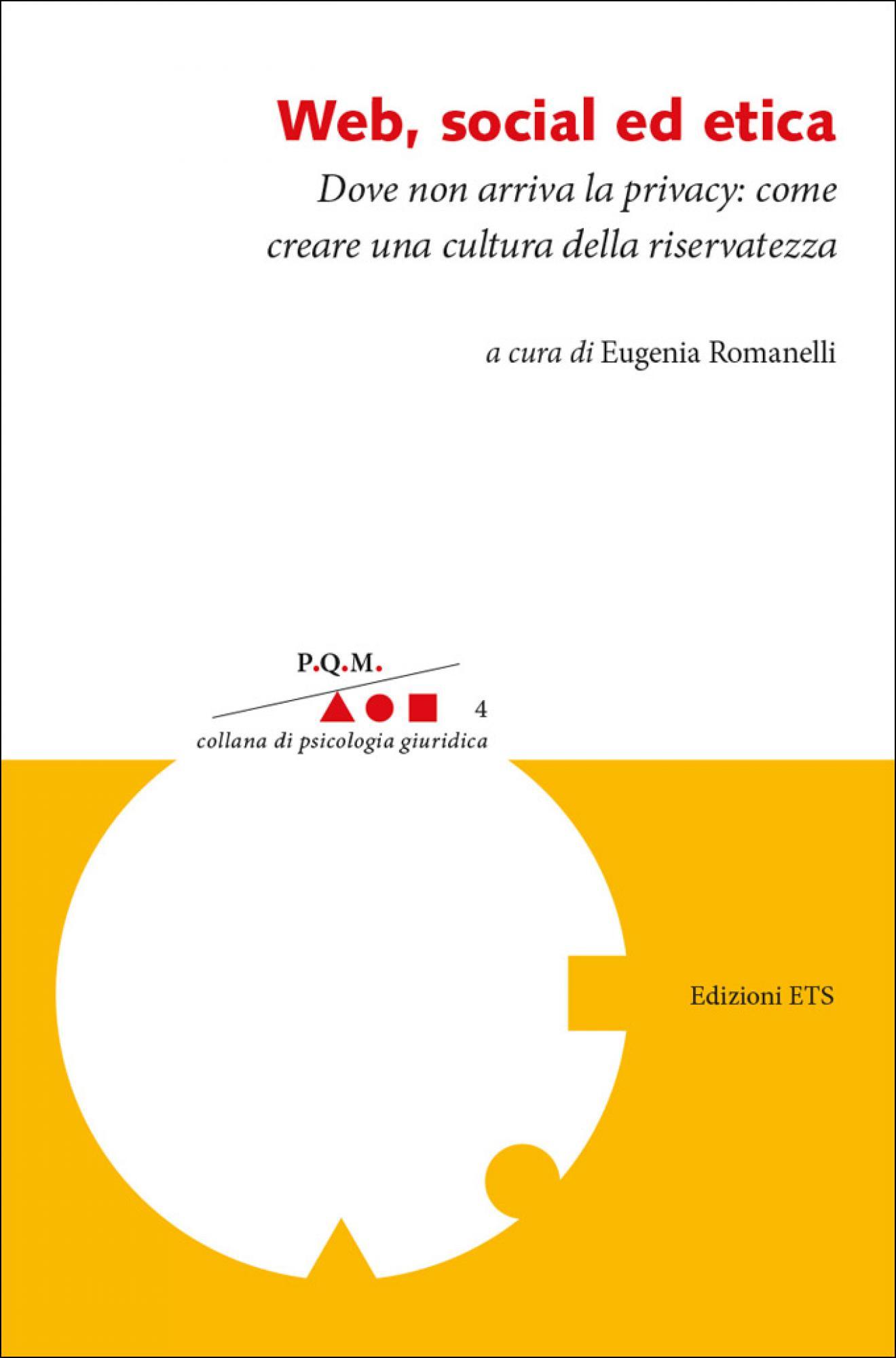 Web social etica prefazione Adriana Mazzucchelli